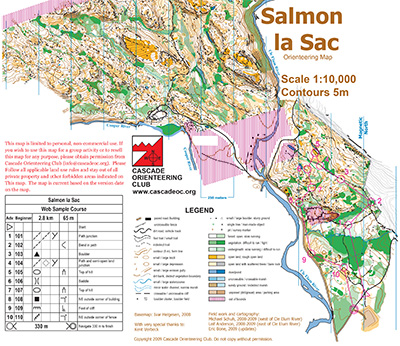 Salmon La Sac - Cascade Orienteering Cascade Orienteering on story map, sce map, smc map, smf map, fremont map, wayne map, slc map, strategic air command map, spu map, sacto ca map, ssc map,