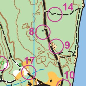 Tolt-MacDonald orienteering map sample