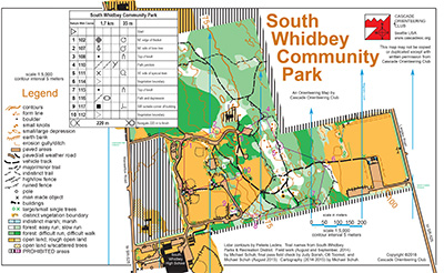 South Whidbey Community Park map preview